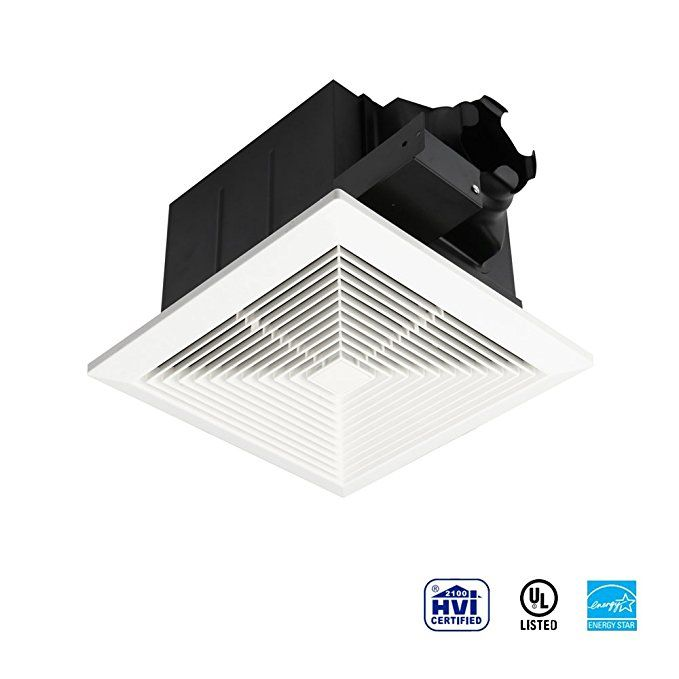 Ultra Quiet Ventilation Fan Bathroom Exhaust Fan 75 110cfm 1 0
