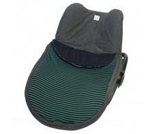 Saco Maxi Cosi Green Stripes