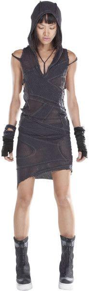 Demobaza Deconstructed Viscose Jersey Dress - Lyst