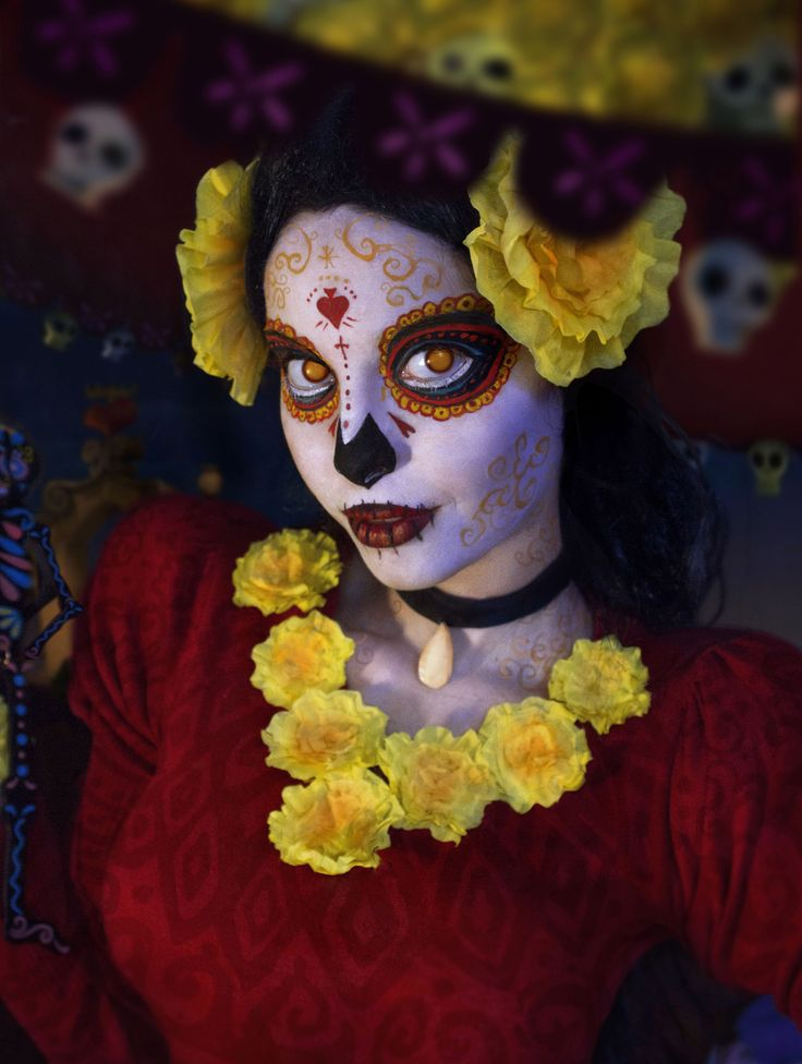 "La Muerte from ""Book of Life"" Cosplay - Imgur"