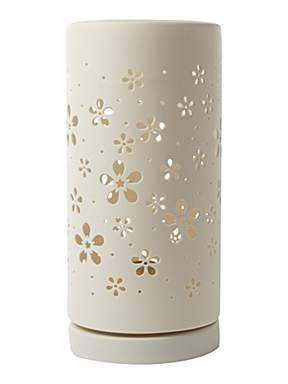 Blossom ceramic cut out table lamp