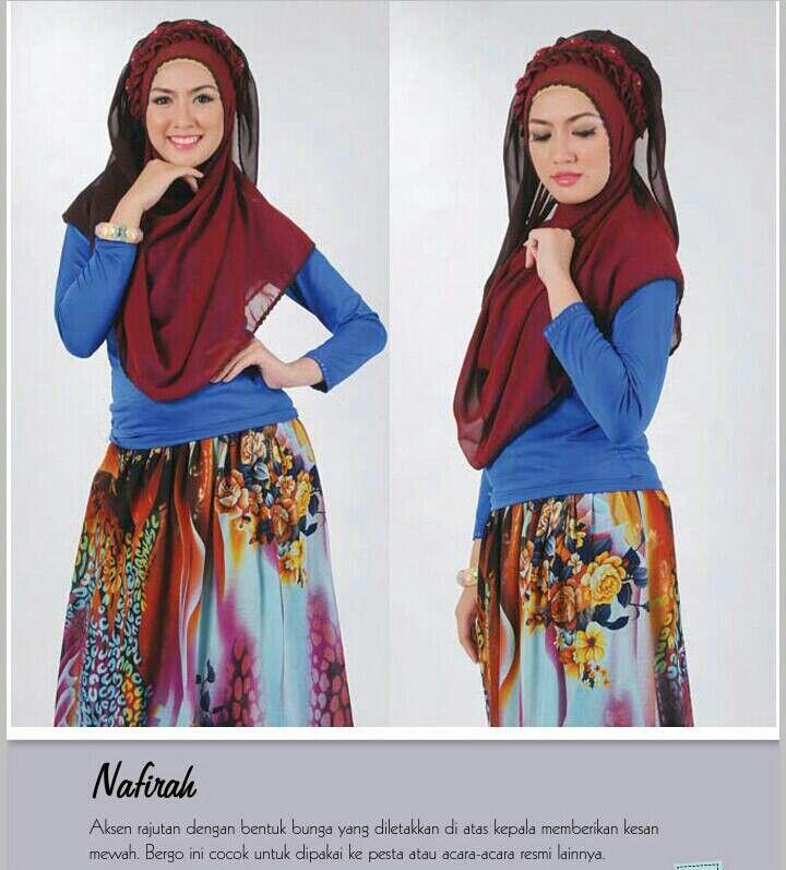 Hijab Rajut NAFIRAH (Pashmina Instan)