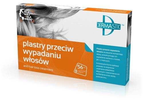 DERMASTIC patches against hair loss 56 units