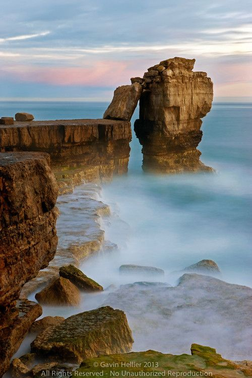 Pulpit Rock, Portland Bill, Isle of Portland, Dorset, England