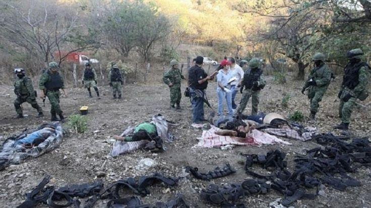 Σοκαριστική ανακάλυψη αποκεφαλισμένων πτωμάτων στο Μεξικό