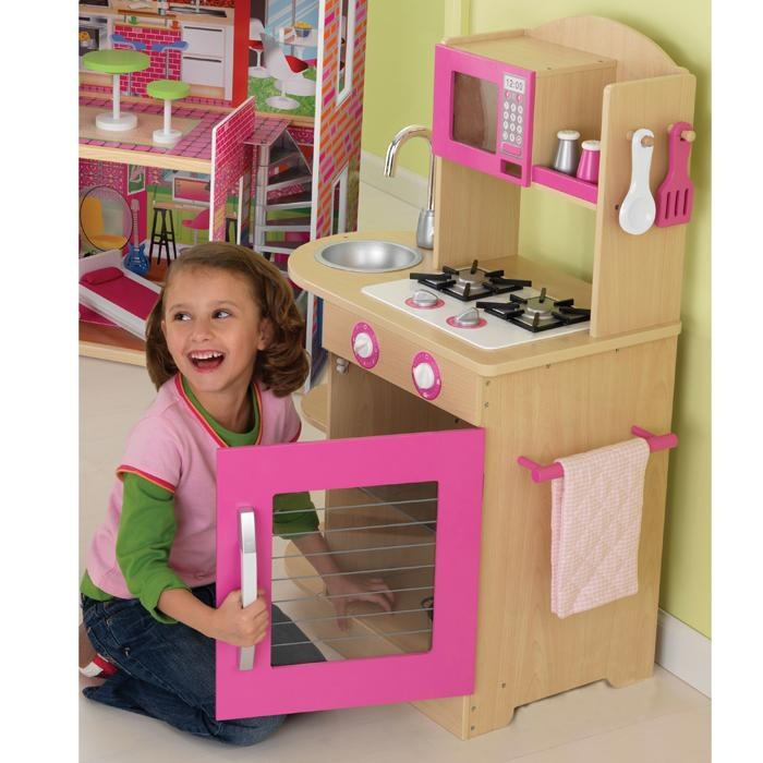 Pink Kitchen For Kids: 26 Best Wooden Kitchens For Children Images On Pinterest