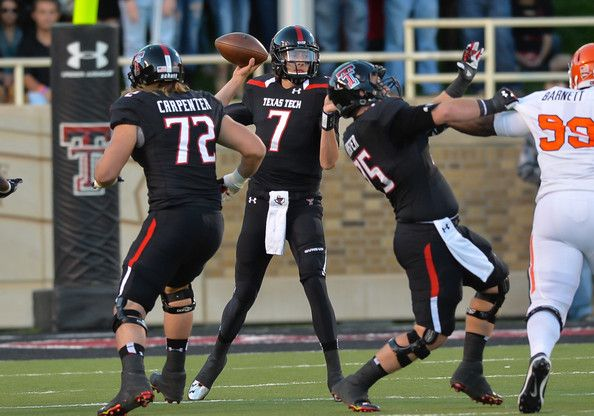 College Football Recap: Texas Tech at Kansas, Raiders Win 30-20, October 17th 2015