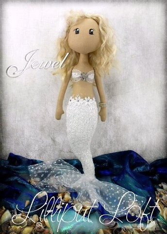 Mermaid doll  Lilliput Loft  http://www.facebook.com/LilliputLoft