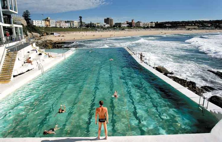 Australia Pool by the ocean