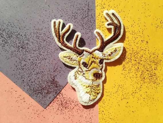 Patch écusson cerf deer