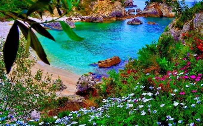 Enjoy Paleokastritsa's turquoise Waters - CORFU - GREECE!