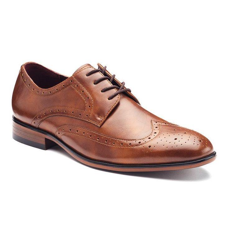 Apt  Men S Wingtip Dress Shoes