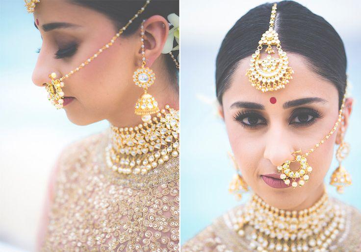 A stunning gold kundan choker set from Khanna Jewelers for Bride Gurtej