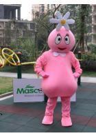 花の姫様、フーファ着ぐるみ ピンク ヨーガバガバのキャラクター着ぐるみ