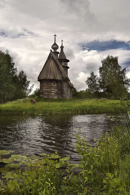 Old Russian Church by Pavel K, via Flickr