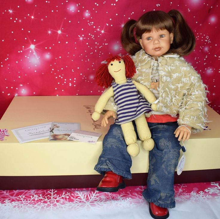 "RARE 2002 Signed Limited to 950 ZAPF Creation Doll ""MELANIE"" by Brigitte Paetsch  