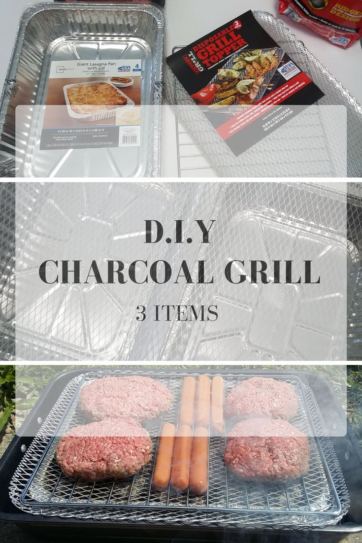 D.I.Y. Portable Disposable Charcoal Grill #SummerIsForSavings #CollectiveBias #WFM2 #AD PLUS see how you can save money this summer for the things you love to do by switching to Walmart Family Mobile.  FREE VUDU◊ movie every month too.