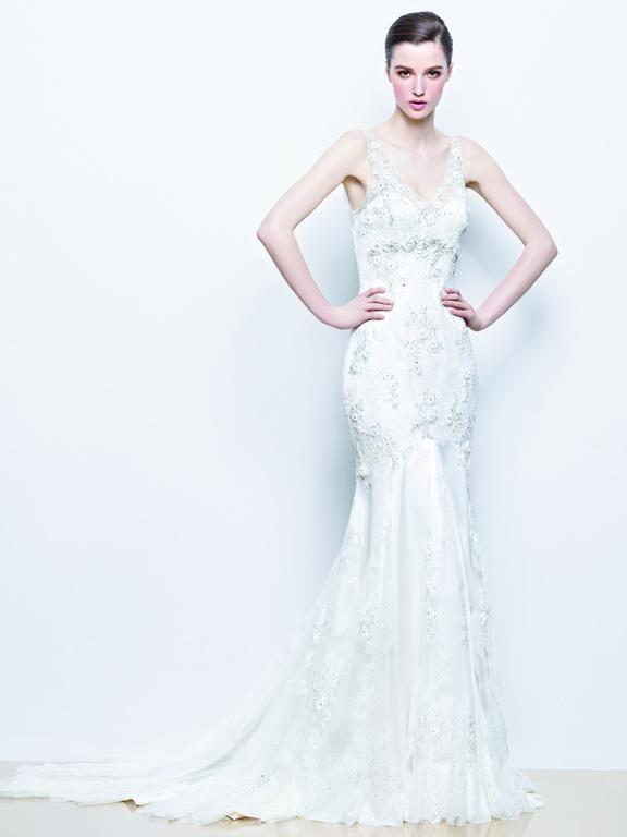 Enzoani - Indigo wedding dress #enzoani #weddingdress #esküvőiruha #hungarian #bridalshop