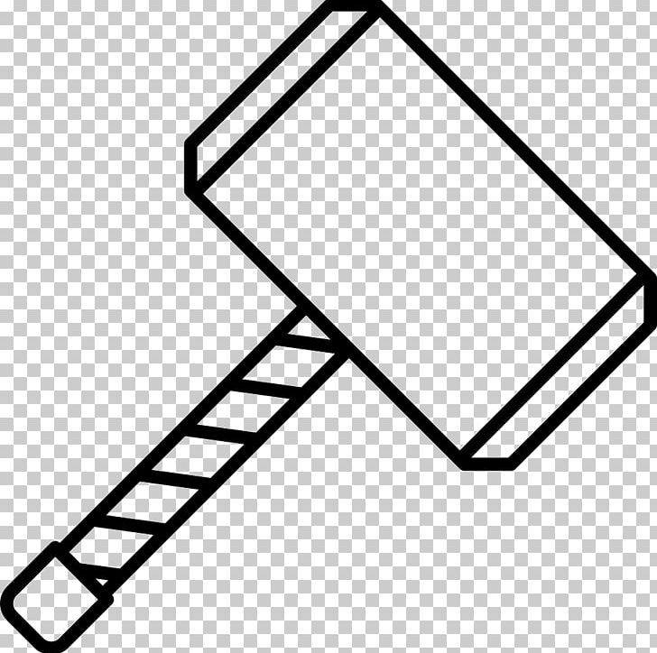 26++ Thor hammer clipart black and white ideas