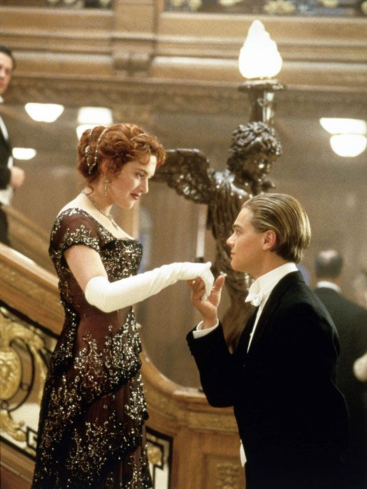 Titanic Painting Scene Unrated