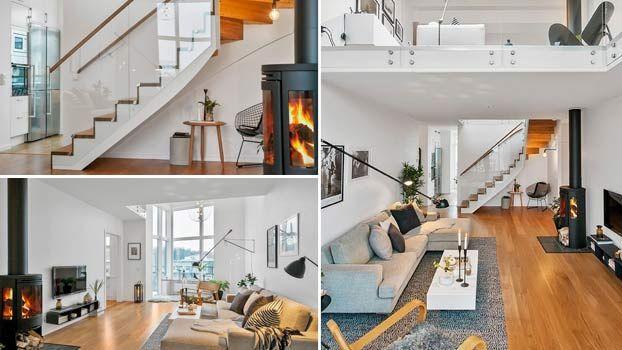 Ristrutturare casa su due livelli e con stile scandinavo