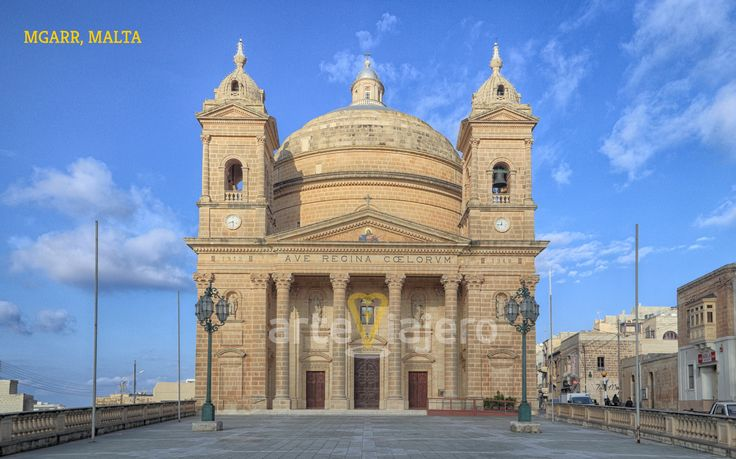 Mgarr Parish Church, Malta #Baroque #Barroco