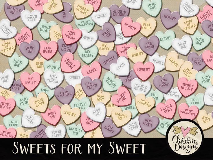 Sweets for My Sweet Heart Candy