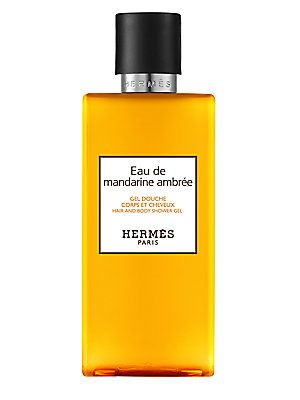 HERMÈS Eau de mandarine ambrée Hair & Body Shower Gel/6.