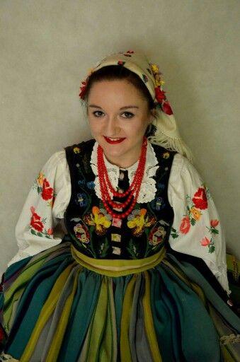 Polish folklor Łowicz region ZPiT Pyrzyce
