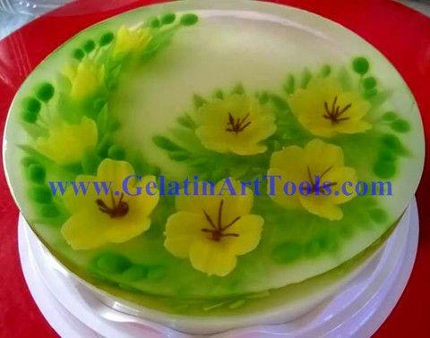 #amazing cake#DIY cake# www.gelatinarttools.com