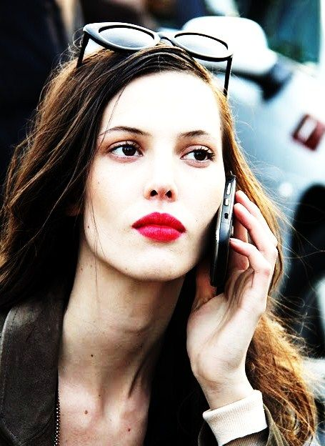 Ruby Red: Face, Beauty Ruby Red, Lips Maketh, Lips Alwaysawinner, Ruby Aldridge, Fashions Style Looking, Red Lips Love, Hair Makeup Nails Beauty