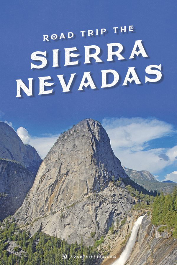 I can't wait to explore California's Parks in the Sierra Nevadas!