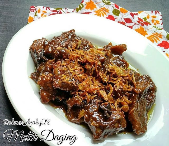 Resep Malbi Daging Lumer Di Lidah By Almer Dzaky28 Resep Makanan Dan Minuman Makan Malam
