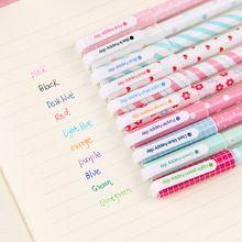 School office DIY 10pcs/lot 0.4mm Multicolours Gel Pens Water-based Pens…