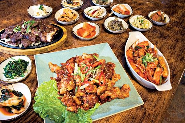 Café Ga Hyang: Fantastic Korean Food -- And It's Open Late ...