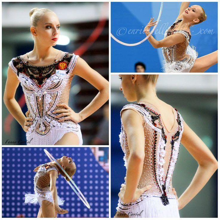 Leotard: Yana Kudryavtseva (Russia), hoop 2015, music: 'Spring' by Sergey Rakhmaninov