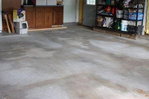 Cleaning Your Concrete Garage Floor