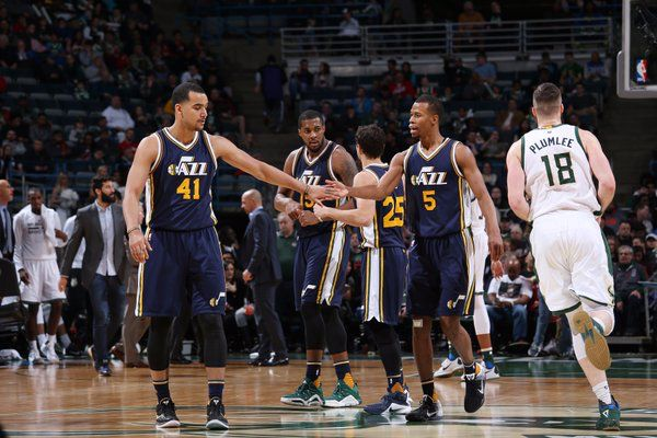 3/20/16 Trey Lyles made 14 points, 4 rebounds and 4 assists in Utah's win at Milwaukee.