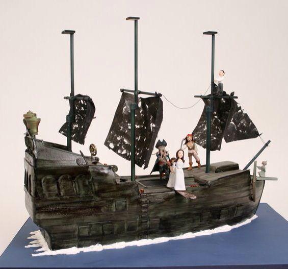 Jack Sparrow Cake Decorations