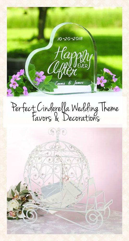 The Perfect Cinderella Wedding Theme Favors! www.weddingfavorsbytheme.com #cinderellaweddingtheme