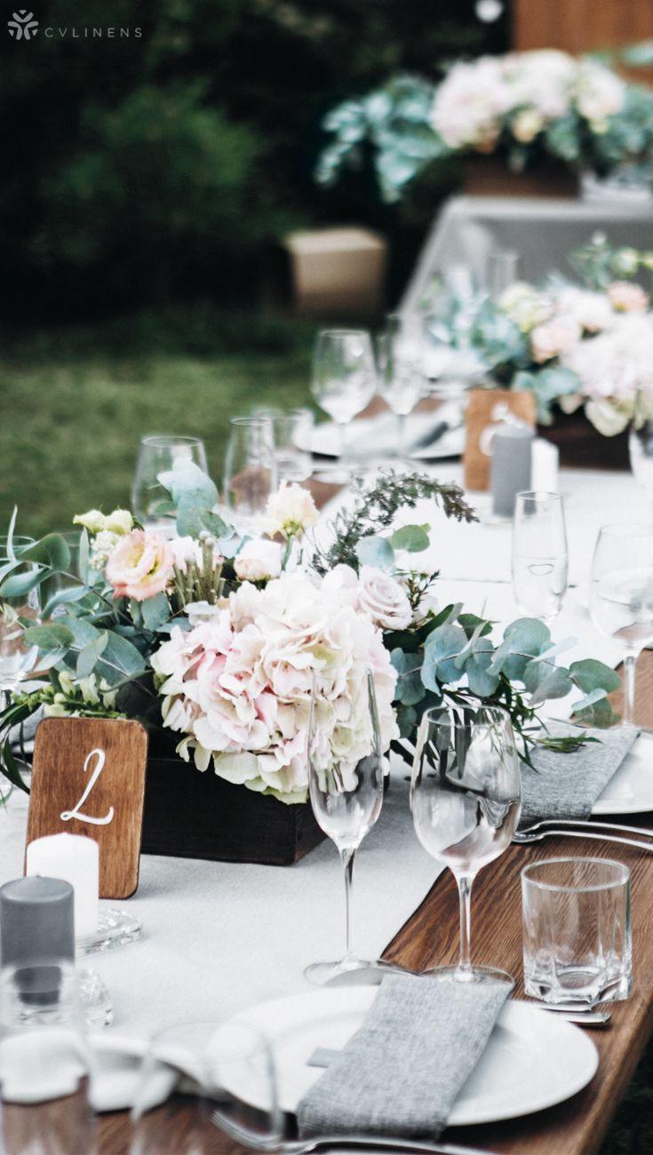 Polyester Table Runner Gray Silver Wedding Reception Centerpieces Rustic Diy Wedding Decorations Wedding Reception Centerpieces Diy