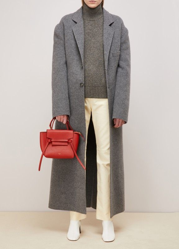 a76019afdee01a CELINE | Nano Belt bag in grained calfskin - Faithful to its refined state  of mind, Céline designed this Nano Belt bag rich in minute details for its  ...
