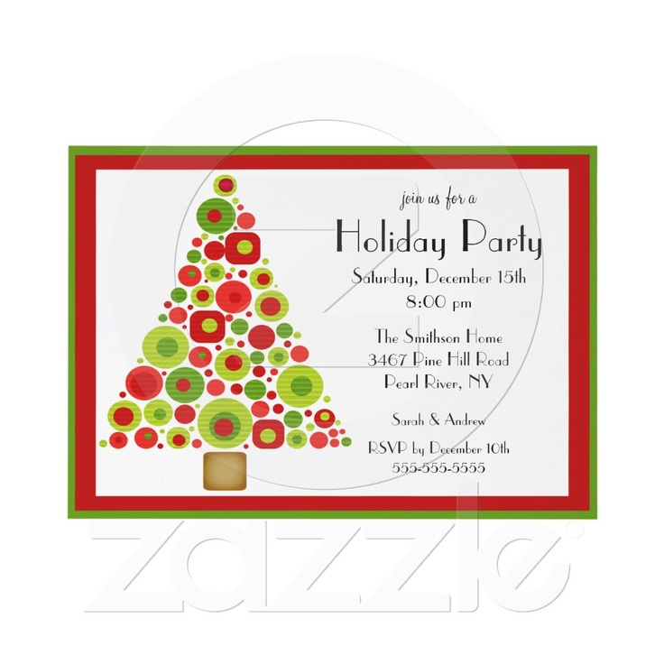 18 best Christmas Party Invites images on Pinterest | Christmas ...