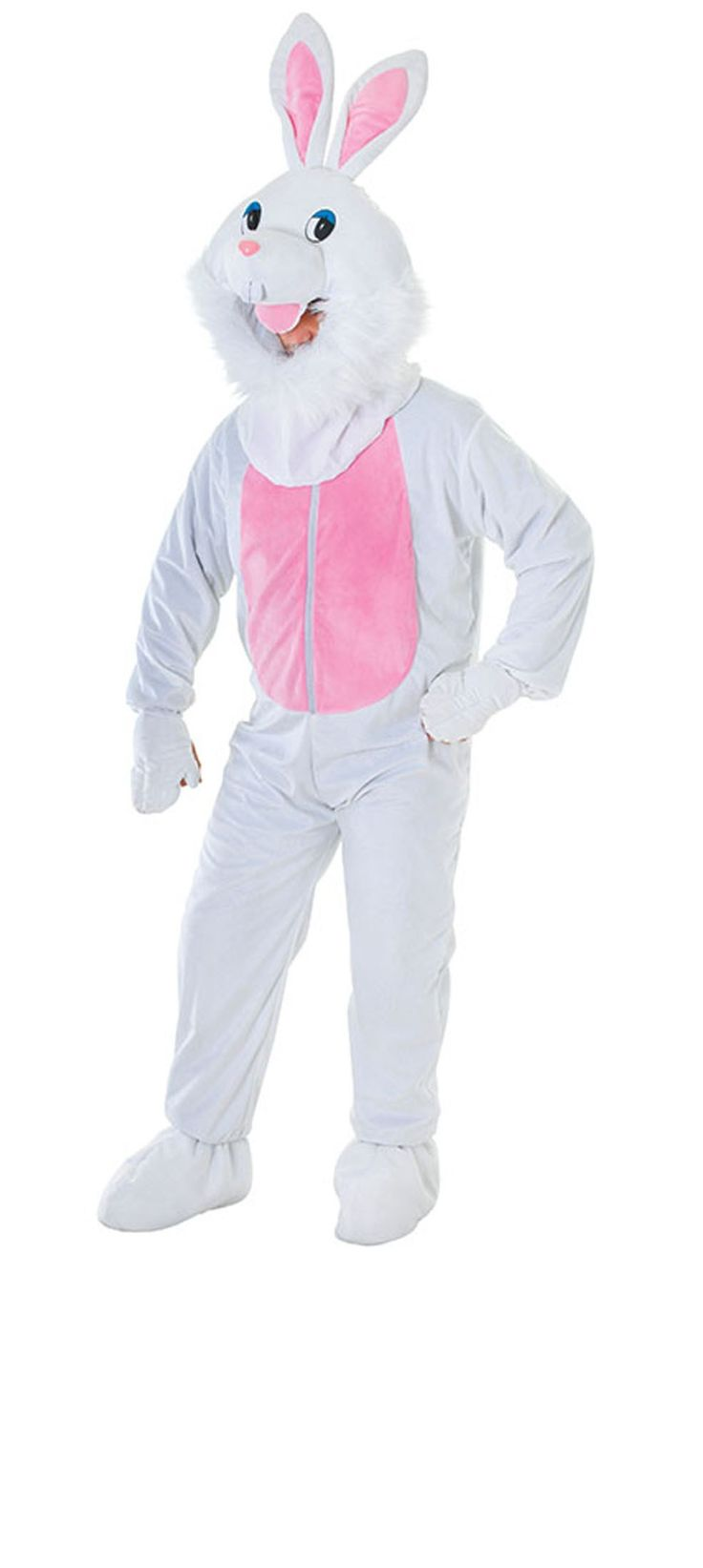 The Big Head #Bunny #costume will be fantastic for #Easter celebration.
