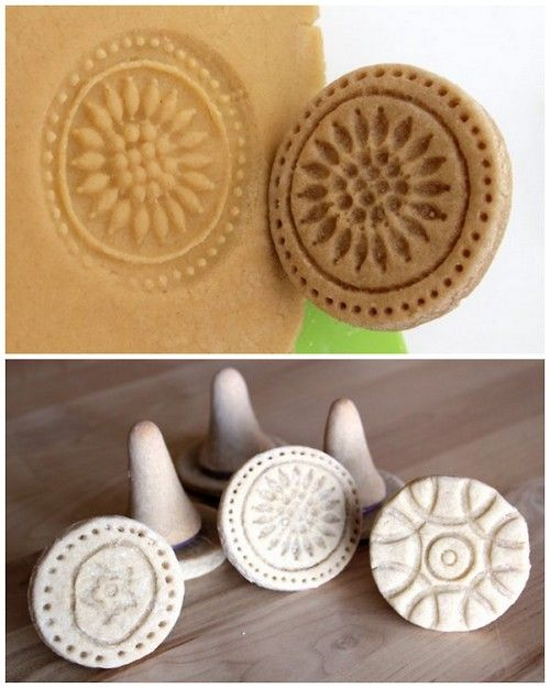 How To Make A Personalised Food Cookie Stamp
