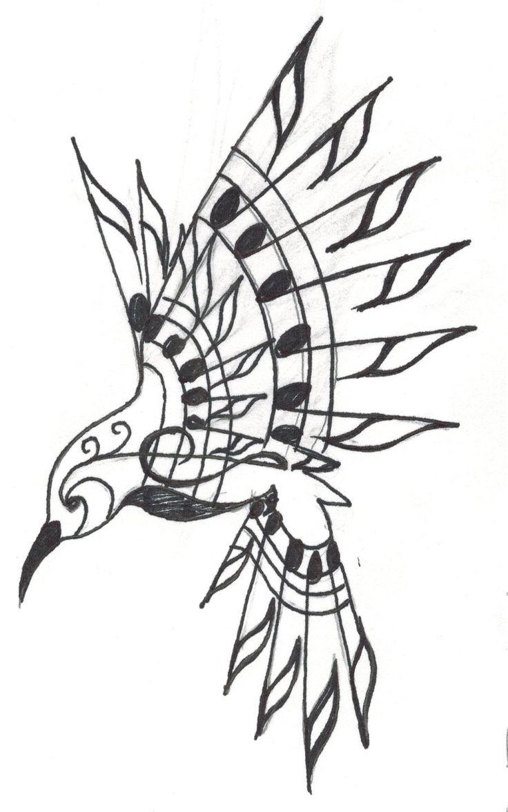 Hummingbird Tattoo by Crystalchik.deviantart.com on @deviantART