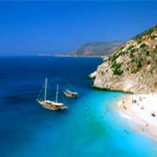 Kusadasi. Boattrip. Turkey