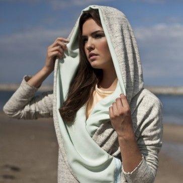 mint hoodie :)