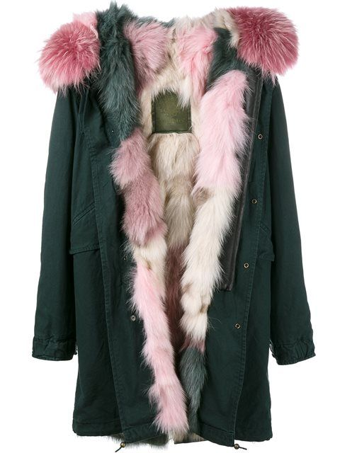 Shop Mr & Mrs Italy fur lined hooded parka in Kirna Zabête from the world's best independent boutiques at farfetch.com. Shop 400 boutiques at one address.