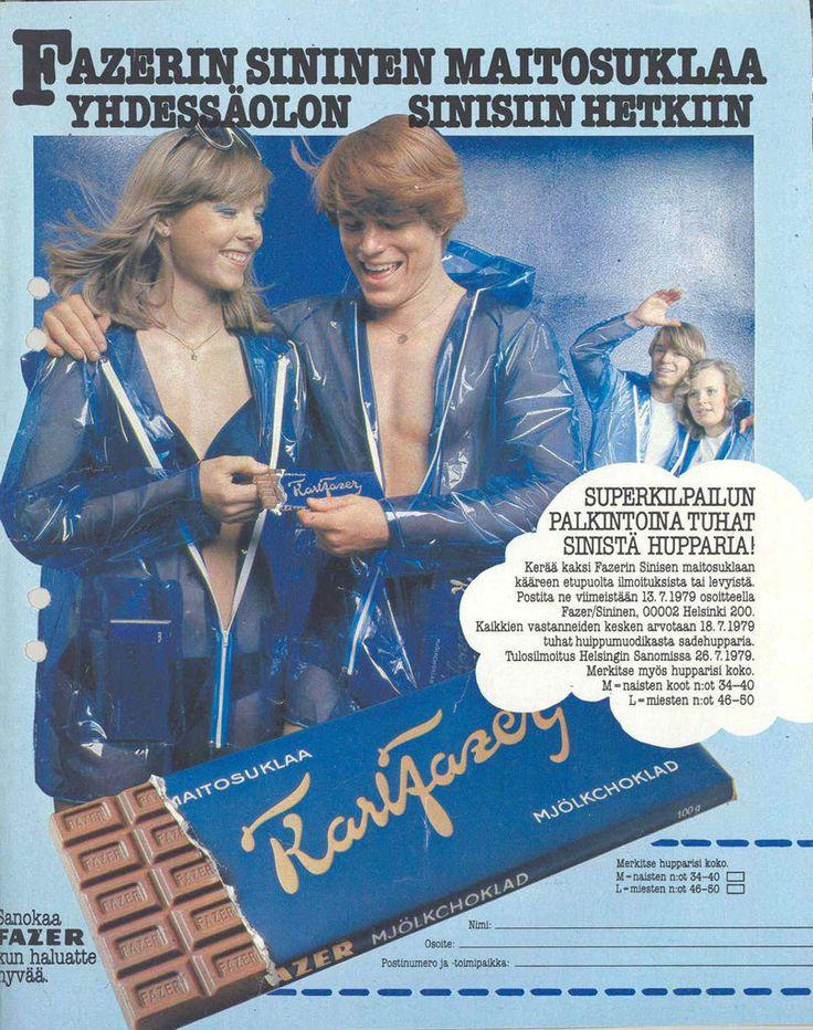 Fazerin Sininen -suklaa on 95 vuotta täyttävä klassikko.